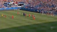 Sebastian Giovinco scores in the match Montreal Impact vs Toronto FC