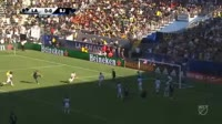 Valeri Qazaishvili scores in the match Los Angeles Galaxy vs San Jose Earthquakes