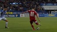 Claudiu Constantin Herea scores in the match Poli Iasi vs Sepsi
