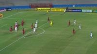 Carlos Breno Barroso Calixto scores in the match Vila Nova FC vs Nautico