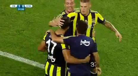 Fenerbahce Sturm Graz goals and highlights