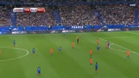 France 4-0 Netherlands - Goal by A. Griezmann (14')