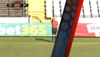 Carlos Ohene scores in the match Slavia Sofia vs Beroe
