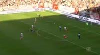 Dominick Drexler scores in the match Union Berlin vs Holstein Kiel