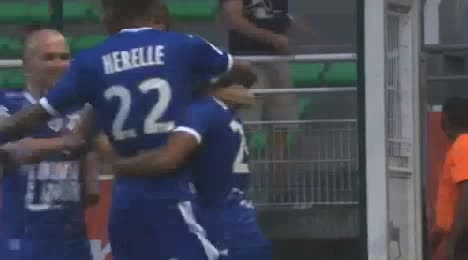 Troyes Rennes goals and highlights