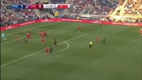 Ilson Pereira Dias Junior scores in the match Philadelphia Union vs FC Dallas