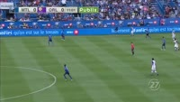 Cyle Larin scores in the match Montreal Impact vs Orlando City