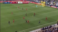 C.J. Sapong scores in the match Philadelphia Union vs FC Dallas