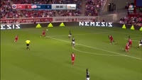 Vitor Gomes Pereira Junior scores in the match Chicago Fire vs New England Revolution
