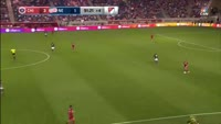 Luis Solignac scores in the match Chicago Fire vs New England Revolution