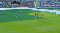 Gelson Martins scores in the match Aves vs Sporting Lisbon