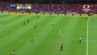 Matheus Martins scores in the match Toluca vs Atlas