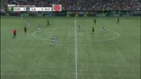 Diego Valeri scores in the match Portland Timbers vs Los Angeles Galaxy