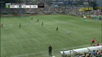 Ema Boateng scores in the match Portland Timbers vs Los Angeles Galaxy