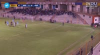 Jose Canova scores in the match Sport Rosario vs Alianza Atl.