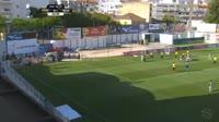 Ruben Fernandes scores in the match Portimonense vs Boavista