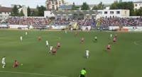 Lorand-Levente Fulop scores in the match FC Botosani vs Poli Timisoara