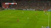 Denmark 4-0 Poland - Golo de A. Cornelius (42min)