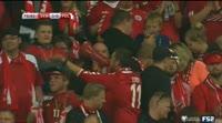 Denmark 4-0 Poland - Golo de C. Eriksen (79min)