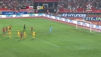 Hakim Ziyech scores in the match Morocco vs Mali