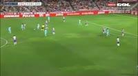 Inigo Ruiz de Galarreta Etxeberria scores in the match Granada CF vs Barcelona B