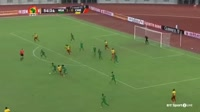 Victor Moses scores in the match Nigeria vs Cameroon