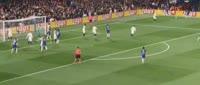 Chelsea 6-0 Qarabağ - Golo de Pedro (5min)