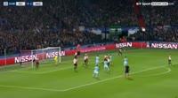 Feyenoord 0-4 Manchester City - Golo de Gabriel Jesus (25min)