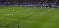 RB Leipzig 1-1 Monaco - Golo de E. Forsberg (32min)