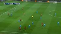 Shakhtar Donetsk 2-1 Napoli - Golo de F. Ferreyra (58min)