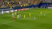 Villarreal 3-1 Astana - Golo de Y. Logvinenko (68min)