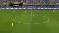 Villarreal 3-1 Astana - Golo de C. Bakambu (75min)