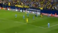 Villarreal 3-1 Astana - Golo de D. Cheryshev (77min)