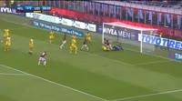 Milan 2-1 Udinese - Golo de N. Kalinić (31min)