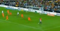 Valencia 5-0 Málaga - Golo de S. Zaza (60min)
