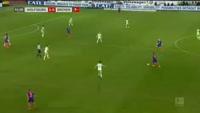 Wolfsburg 1-1 Werder Bremen - Golo de F. Bartels (56min)