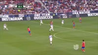 Marcos Urena scores in the match USA vs Costa Rica