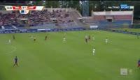 Marcin Wodecki scores in the match Odra Opole vs Chojniczanka