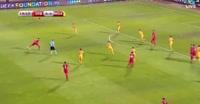 Serbia 3-0 Moldova - Golo de M. Gaćinović (20min)