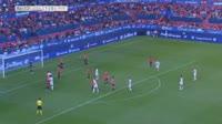 Gonzalo Melero scores in the match Osasuna vs Huesca