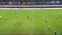 Seydou Doumbia scores in the match Gabon vs Ivory Coast