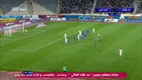Mohammad Nejad Mehdi scores in the match Esteghlal TEH vs Zob Ahan