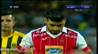 Mehdi Taremi scores in the match Sepahan vs Persepolis