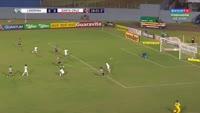 Wellington Cezar Wellington scores in the match Londrina vs Santa Cruz