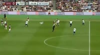 West Ham United 2-3 Tottenham Hotspur - Golo de H. Kane (34min)