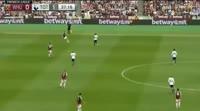 West Ham United 2-3 Tottenham Hotspur - Golo de H. Kane (38min)