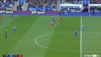 Leicester City 2-3 Liverpool - Golo de Mohamed Salah (15min)