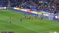 Leicester City 2-3 Liverpool - Golo de S. Okazaki (45+3min)