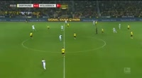 Borussia Dortmund 6-1 Borussia M'gladbach - Golo de P. Aubameyang (62min)