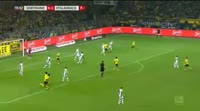 Borussia Dortmund 6-1 Borussia M'gladbach - Golo de J. Weigl (79min)